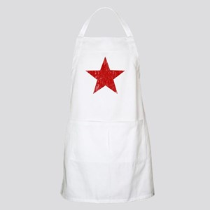 Punk Star Red BBQ Apron