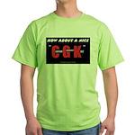 Clinton Goodnight Kiss Green T-Shirt