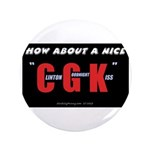 "Clinton Goodnight Kiss 3.5"" Button (100 pk)"