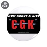 "Clinton Goodnight Kiss 3.5"" Button (10 pk)"