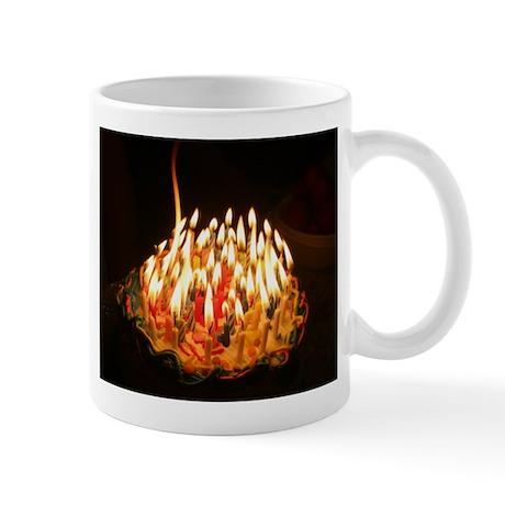 60 candles Mug