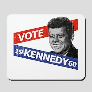 Retro Kennedy 1960 Mousepad