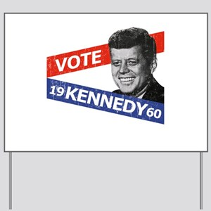Retro Kennedy 1960 Yard Sign