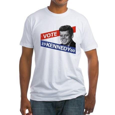 Retro Kennedy 1960 Fitted T-Shirt