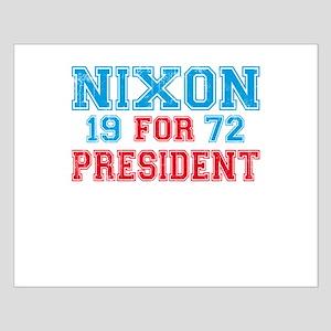 Retro Nixon 1972 Small Poster