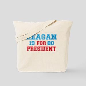 Retro Reagan 1980 Tote Bag