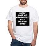 The New Goodnight Kiss White T-Shirt