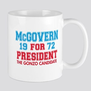 McGovern 1972 Gonzo Mug