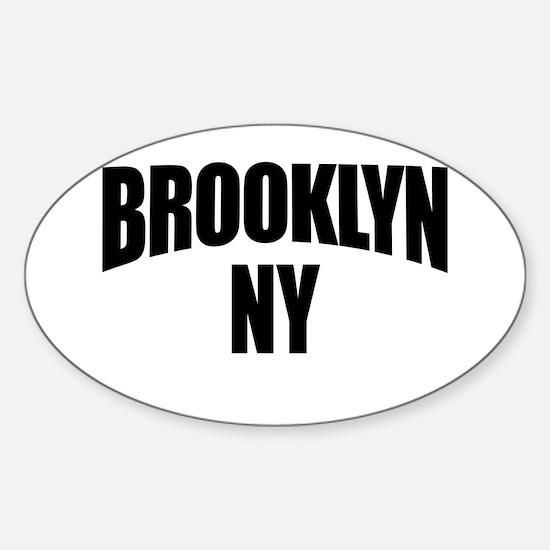 Brooklyn NY NYC Oval Decal