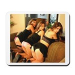 Our 3 models on a mousepad!