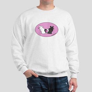 Chinchilla Hearts Sweatshirt