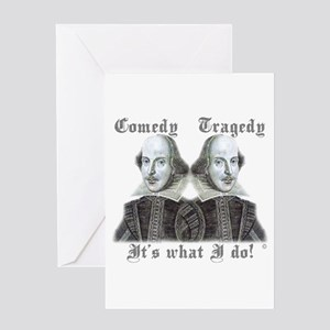 Shakespeare - It's what I do! Greeting Card