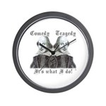 Shakespeare - It's what I do! Wall Clock