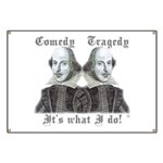 Shakespeare - It's what I do! Banner