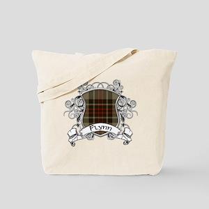 Flynn Tartan Shield Tote Bag