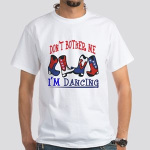 I'M DANCING White T-Shirt