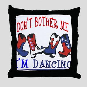 I'M DANCING Throw Pillow
