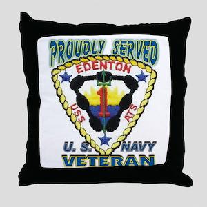 USS Edenton Throw Pillow