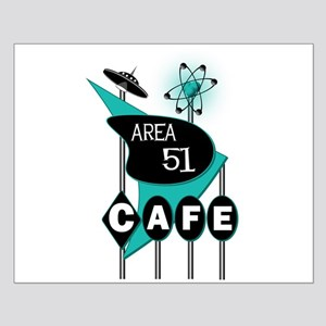 Area 51 Cafe Small Poster