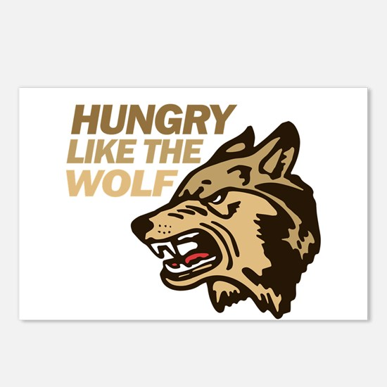 Hungry Like Wolf Duran Rio Postcards (Package of 8