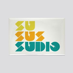 Sussudio Collins Rectangle Magnet
