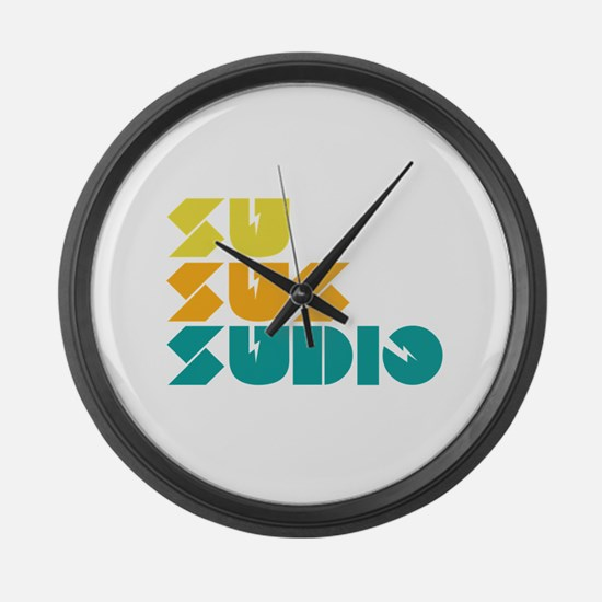 Sussudio Collins Large Wall Clock