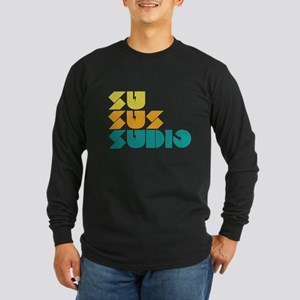 Sussudio Collins Long Sleeve Dark T-Shirt