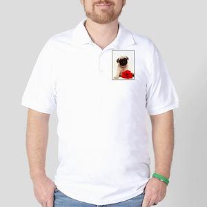 Pug Puppy Golf Shirt