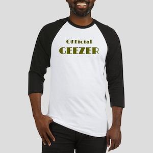 Official Geezer Baseball Jersey