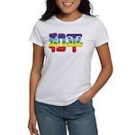 Chinese Rainbow Peace symbol Women's T-Shirt