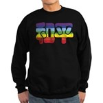 Chinese Rainbow Peace symbol Sweatshirt (dark)