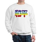 Chinese Rainbow Peace symbol Sweatshirt