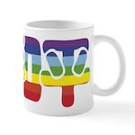 Chinese Rainbow Peace symbol Mug