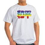 Chinese Rainbow Peace symbol Light T-Shirt