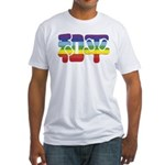 Chinese Rainbow Peace symbol Fitted T-Shirt