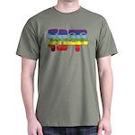 Chinese Rainbow Peace symbol Dark T-Shirt