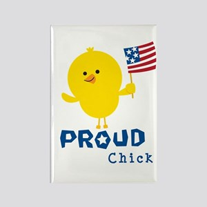 Proud Chick Rectangle Magnet