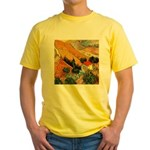 House and Ploughman Yellow T-Shirt