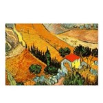 House and Ploughman Postcards (Package of 8)