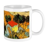 House and Ploughman Mug
