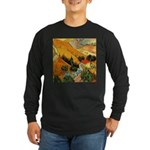 House and Ploughman Long Sleeve Dark T-Shirt