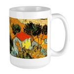 House and Ploughman Large Mug