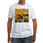 House and Ploughman Fitted T-Shirt