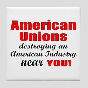 Unions Tile Coaster
