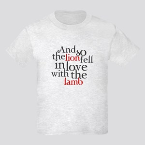 Lion fell in love with lamb Kids Light T-Shirt