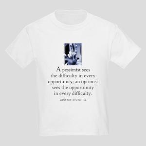 An optimist Kids Light T-Shirt