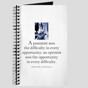 An optimist Journal