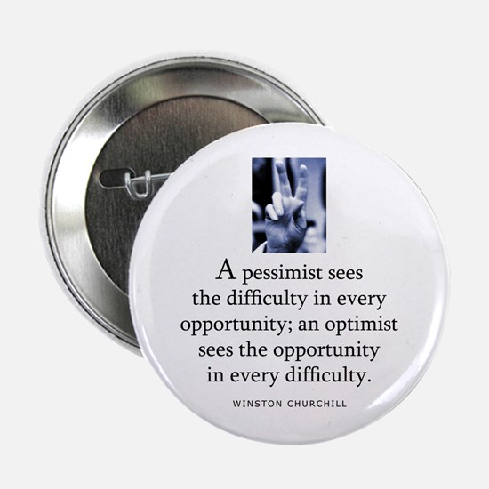 "An optimist 2.25"" Button"