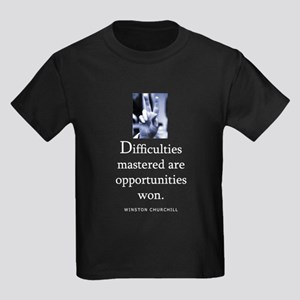 Difficulties Kids Dark T-Shirt