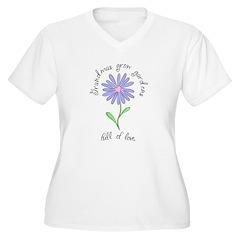 Grandmas Grow Gardens Full of T-Shirt